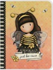 Notes A6 w okładce - Bee Loved