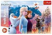 Puzzle 24 Maxi Frozen 2 Magiczna wyprawa