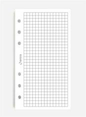 Wkład do organizera ST kratka biała ANTRA