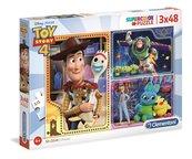 Puzzle 3x48 Super kolor Toy story 4