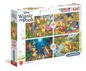 PUZZLE 2x20+2x60 Super kolor Winnie the Pooh