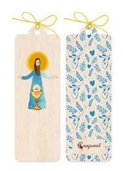 Zakładka drewniana Jezus