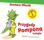 Przygody Pompona. Trylogia audiobook