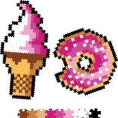Puzzelki Pixelki Jixelz 700 elem. - słodkości