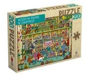 Puzzle 200 Detektyw Pierre w labiryncie