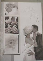 Karnet ślubny B6 Premium 40 + koperta