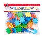 Klocki puzzle 75 elementów