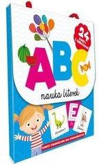 ABC Nauka literek. Karty edu. dla najmlodszych