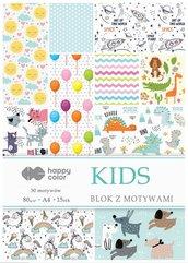 Blok z motywami Kids A4/15K 80g HAPPY COLOR