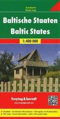 Mapa samochodowa - Kraje Bałtyckie 1:400 000