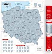 Mapa zdrapka - Polska 1:1 500 000