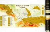 Mapa zdrapka - Polskie Góry 1:700 000