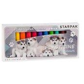 Plastelina 12 kolorów Cuties psy
