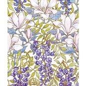 Karnet 17x14 cm z kopertą Magnolia wallpaper