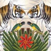 Karnet kwadrat z kopertą Bengal Tiger