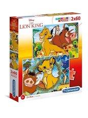 Puzzle 2x60 Król Lew
