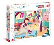 Puzzle Supercolor Maxi 60 To the Vet
