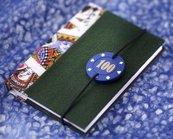 Notatnik A6/200K linia Casino