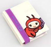 Zodiak - notatnik z opaską na rękę - Rak