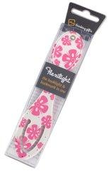Flexilight Pink Flowers - Lampka do książki Kwiaty