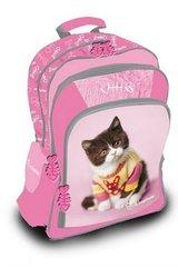 Plecak duży Rachel Hale - Kot różowy