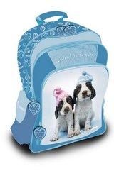 Plecak duży Rachel Hale - Pies niebieski