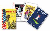 Karty Piatnik Vintage Travel USA, 1 talia
