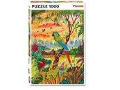 Puzzle 1000 - Ara Zielona PIATNIK