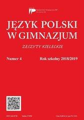 Język Polski w Gimnazjum nr 4 2018/2019