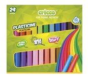Plastelina 24 kolory CRICCO