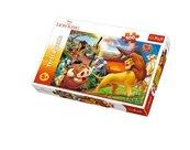 Puzzle 100 Przygody Simby TREFL