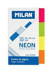 Indeksy neon kolorowe 50x20mm MILAN