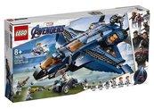 Lego SUPER HEROES 76126 Wspaniały Quinjet Avengers