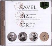 Wielcy kompozytorzy - Ravel, Bizet, Orff (2CD)