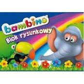 Blok rysunkowy A4/20K (10szt) BAMBINO