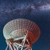 Karnet kwadrat z kopertą Radio Telescope