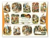 Papeteria Wallet Alice in Wonderland