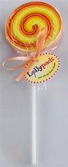 Lollypads lizak - karteczki samoprzylpne pomarańcz
