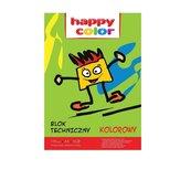 Blok techniczny kolor A3/10K 170g HAPPY COLOR