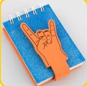 Kołonotes dłoń - 4 palce