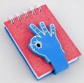 Kołonotes dłoń - 3 palce