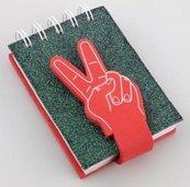 Kołonotes dłoń - 2 palce