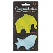 Origami Notes - karteczki samoprzylepne Słoń/Ptak