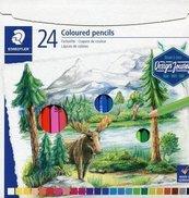 Kredki sześciokątne 24 kolory Design Journey