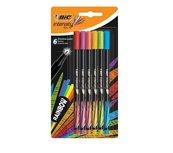 Cienkopisy Intensity fine mix rainbow 6 kolorów