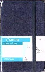 Notes A6 Linia Sakura Granatowy ANTRA