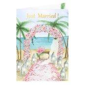 Karnet B6 Ślub - Plaża