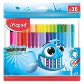 Flamastry Colorpeps Ocean 36 kolorów MAPED