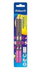 Ołówek Combino pink 2szt