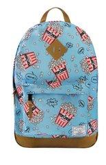 Plecak Popcorn niebieski